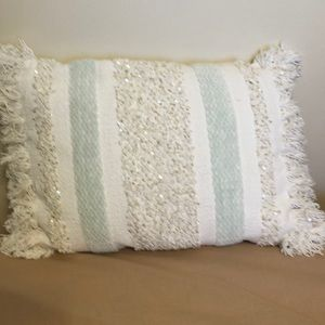 ☀️Anthropology decorative pillow. Like new!☀️